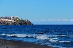 Strand in Teneriffa Lizenzfreies Stockfoto