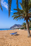 Strand Teresitas in Tenerife - Kanarische Inseln Stockfotografie