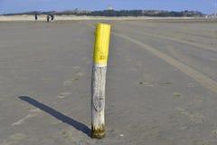 Strand Terschelling, Nederländerna Arkivbilder