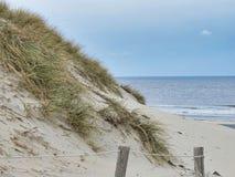 Strand in Terschellling stock afbeelding