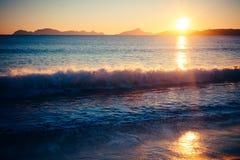 Strand Tid 1 Royaltyfria Foton