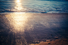 Strand Tid 1 Royaltyfri Bild