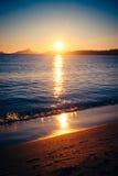 Strand Tid 1 Arkivbild