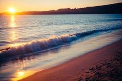 Strand Tid 1 Arkivfoton