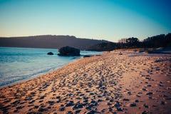 Strand Tid 1 Arkivfoto