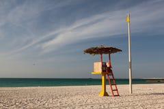 strand tomma dubai royaltyfri bild