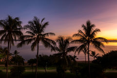 The Strand, Townsville at sunrise Stock Photography