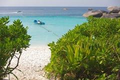 strand tropiska thailand Royaltyfri Foto