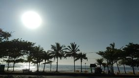 Strand Ubatuba - SP stock afbeelding