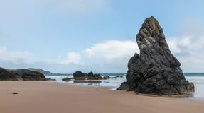 Strand und Bucht Sango Stockbilder