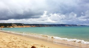 Strand und D?nen lizenzfreies stockfoto