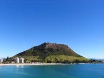 Strand und die Insel stockfotos