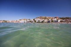 Strand und Meer lizenzfreies stockbild