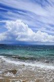 Strand und Meer Lizenzfreie Stockfotografie