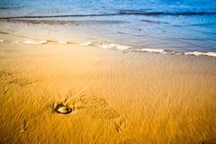 Strand und Meer Lizenzfreie Stockfotos