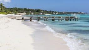 Strand und Pier Spotts Stockfotografie