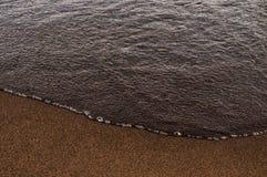 Strand und Sand Lizenzfreie Stockfotos