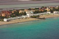 Strand und Torte Lizenzfreies Stockfoto