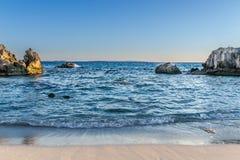 Strand und Wasser Lizenzfreie Stockfotos