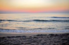 Strand und Wellen Lizenzfreies Stockbild