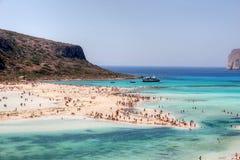 Strand van Balos Stock Afbeeldingen