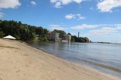 Strand van Colonia del Sacramento royalty-vrije stock afbeelding