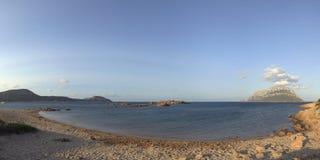 Strand van Costa Corallina Stock Foto's