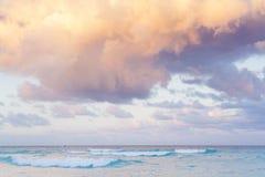 Strand van de Caraïbische Zee Stock Foto