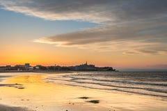 Strand van grado Italië stock afbeeldingen