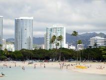 Strand van Hawaï Royalty-vrije Stock Afbeelding