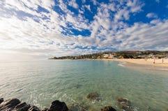 Strand van Heilige Gilles bij Bijeenkomsteiland Stock Afbeeldingen