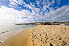 Strand van Heilige Gilles, Bijeenkomsteiland Stock Afbeelding