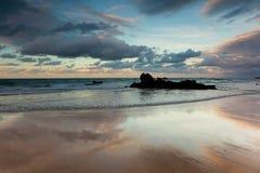 Strand van Helgueras Royalty-vrije Stock Foto's