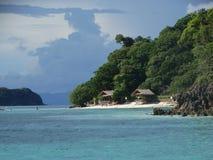Strand van het paradijs het tropische eiland, Coron, Filippijnen stock foto