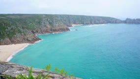 Strand van heuvel hoogste mening Royalty-vrije Stock Afbeelding