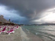 Strand van Mallorca, Spanje royalty-vrije stock foto's