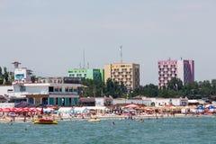 Strand van Mamaia stock afbeelding