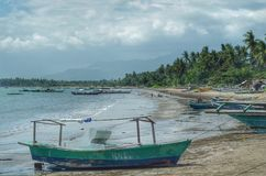 Strand van Narra Palawan Filippijnen stock fotografie