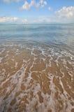 Strand van overzees Stock Afbeelding