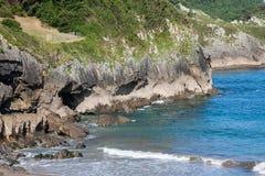 Strand van Pechon Royalty-vrije Stock Afbeeldingen