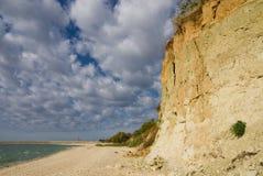Strand van reservoir Tsimlyansk Royalty-vrije Stock Afbeelding