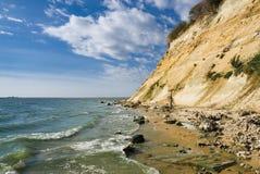 Strand van reservoir Tsimlyansk Stock Foto's