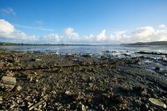 Strand van rotsen Royalty-vrije Stock Afbeeldingen
