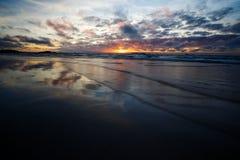 Strand van Saint Malo, Bretagne, Frankrijk Royalty-vrije Stock Foto