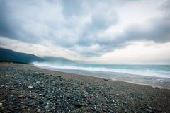 Strand van Taiwan Stock Foto