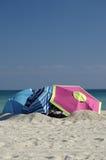 Strand-Versteck Stockbild
