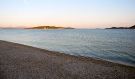Strand Vodice, Kroatien Lizenzfreie Stockfotografie