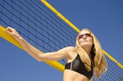 Strand-Volleyball Lizenzfreie Stockfotografie