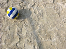 Strand-Volleyball Stockbilder