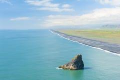 Strand vom Kap Dyrholaey Lizenzfreie Stockfotografie